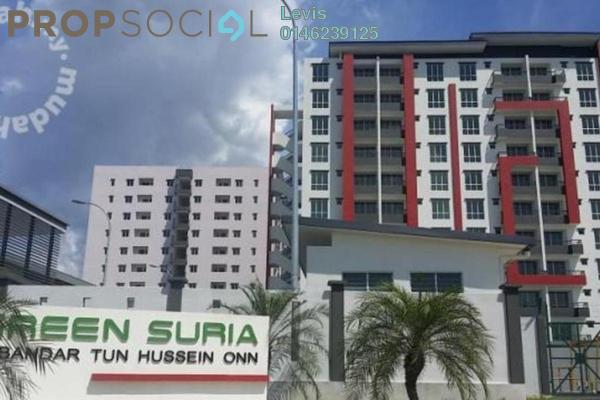 For Rent Condominium at Green Suria Apartment, Bandar Tun Hussein Onn Freehold Unfurnished 4R/2B 950translationmissing:en.pricing.unit