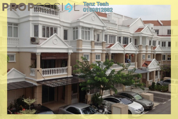 For Sale Townhouse at Sommerset Close, Bandar Sri Permaisuri Leasehold Semi Furnished 4R/4B 750k