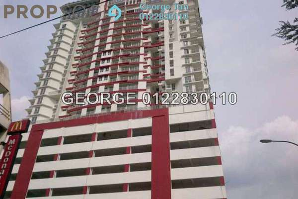 For Sale Condominium at Sri Hijauan, Shah Alam Freehold Semi Furnished 4R/2B 560k