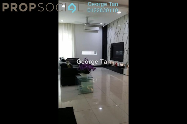 For Rent Condominium at Sri Hijauan, Shah Alam Freehold Semi Furnished 3R/2B 1.8k