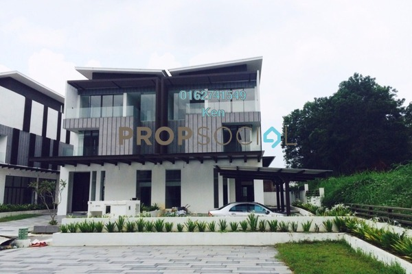For Sale Semi-Detached at Perdana Lakeview East, Cyberjaya Freehold Unfurnished 5R/5B 2.5m