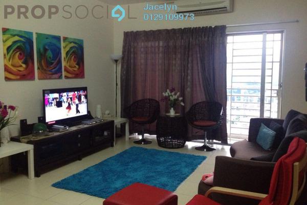 For Sale Condominium at Platinum Lake PV12, Setapak Leasehold Semi Furnished 3R/2B 520k