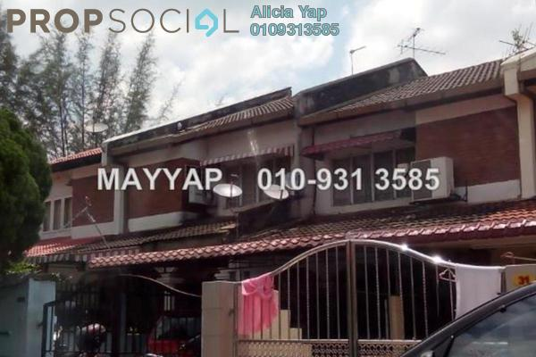 For Sale Terrace at Taman Sri Sinar, Segambut Freehold Semi Furnished 5R/3B 850k