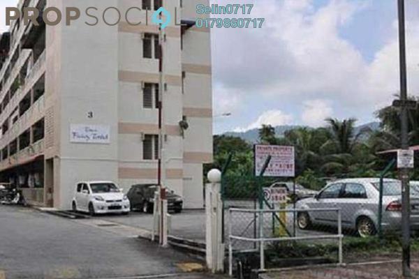 For Sale Apartment at Taman Padang Tembak 3, Air Itam Freehold Unfurnished 3R/2B 338k