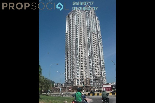 For Sale Condominium at Fettes Residences, Tanjung Tokong Freehold Fully Furnished 4R/2B 1.46m