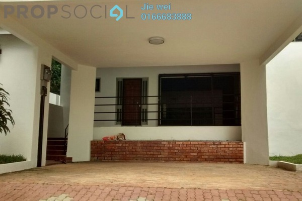 For Sale Bungalow at Section 2, Shah Alam Leasehold Semi Furnished 5R/5B 1.85Juta