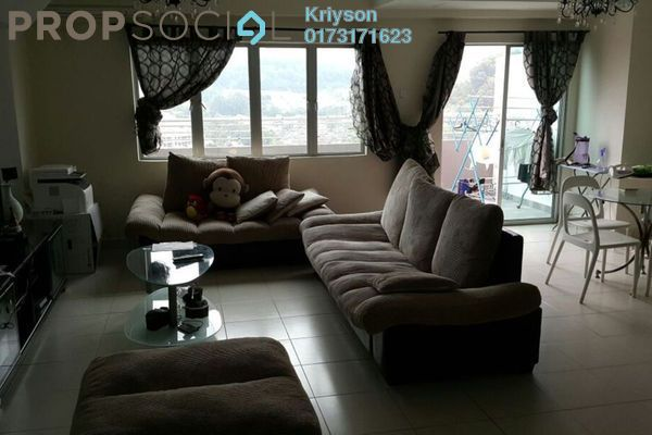 For Sale Condominium at Sering Akasia, Batu 9 Cheras Freehold Fully Furnished 4R/3B 580k