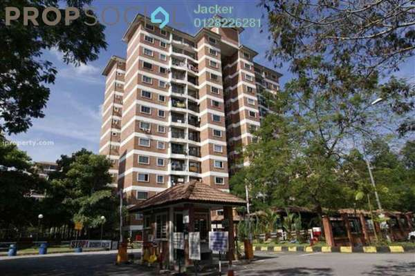 For Rent Condominium at Forest Green, Bandar Sungai Long Freehold Semi Furnished 3R/2B 1.45k