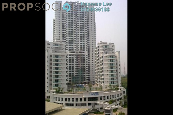For Sale Condominium at The Oasis, Gelugor Leasehold Semi Furnished 3R/2B 590k