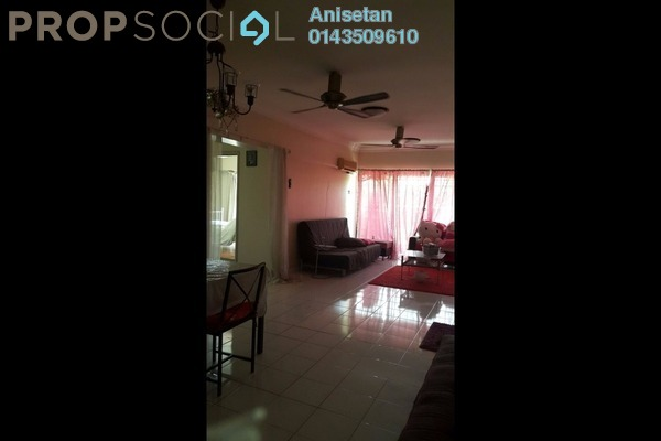 For Rent Condominium at Anjung Hijau, Bukit Jalil Freehold Fully Furnished 2R/2B 1.4k