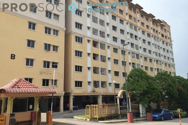 For Sale Apartment at Puncak Baiduri, Cheras South Freehold Unfurnished 3R/2B 265k