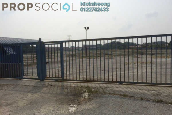 For Sale Land at Bukit Kemuning Industrial Park, Kota Kemuning Freehold Unfurnished 0R/0B 13.6m