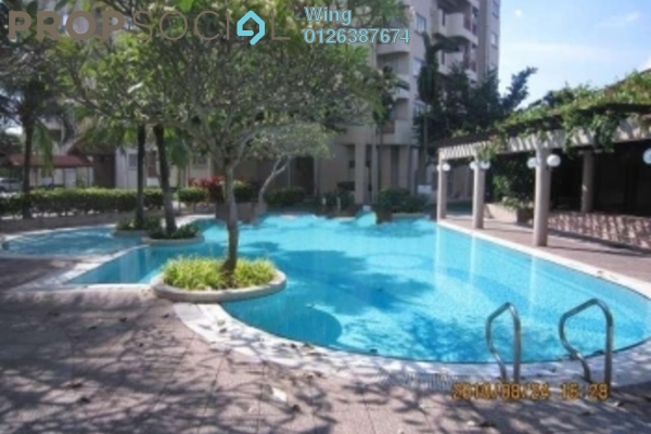 For Rent Condominium at Menara Damansara, Bandar Sri Damansara Freehold Semi Furnished 3R/2B 1.25k