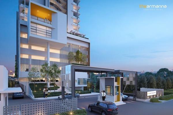 For Sale Condominium at The Armanna @ Kemuning Prima, Kemuning Utama Freehold Semi Furnished 3R/2B 542k