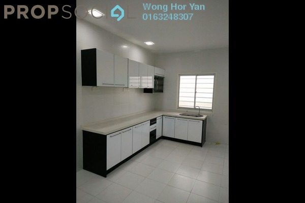 For Rent Townhouse at The Lake Residence, Puchong Leasehold Semi Furnished 3R/2B 1.35k