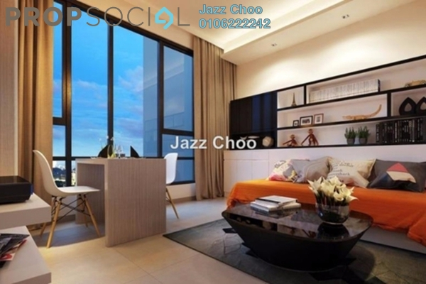 For Rent Condominium at Laman Ceylon, Bukit Ceylon Freehold Fully Furnished 2R/2B 3k