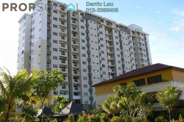 For Sale Condominium at Villa Pavilion, Seri Kembangan Freehold Semi Furnished 3R/2B 399k