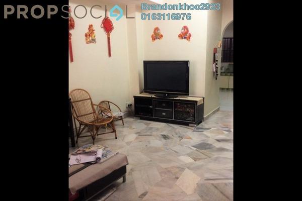 For Sale Terrace at Taman Setapak, Setapak Freehold Semi Furnished 3R/2B 600k