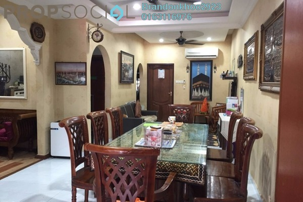 For Sale Terrace at Taman Bunga Raya, Setapak Freehold Semi Furnished 3R/2B 530k
