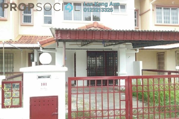 For Sale Terrace at Bandar Bukit Raja, Klang Freehold Unfurnished 3R/3B 445k