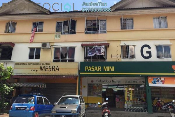 For Sale Apartment at Taman Bunga Raya, Bukit Beruang Freehold Unfurnished 3R/1B 68k