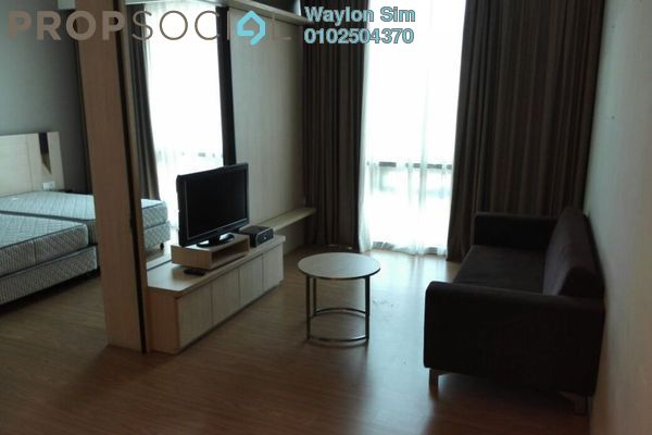 For Rent Condominium at Swiss Garden Residences, Pudu Freehold Fully Furnished 1R/1B 3k