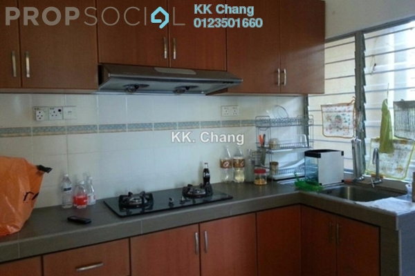 For Rent Apartment at Sri Cempaka Apartment, Bandar Puteri Puchong Freehold Fully Furnished 3R/2B 1.3k