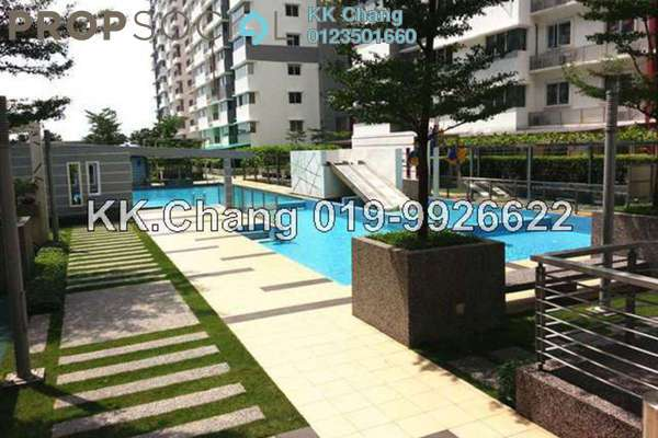 For Rent Condominium at X2 Residency, Puchong Leasehold Fully Furnished 4R/3B 1.8k