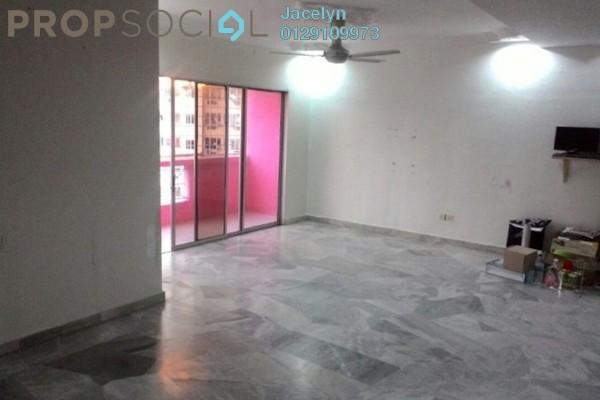 For Sale Condominium at Pelangi Indah, Jalan Ipoh Freehold Semi Furnished 3R/2B 450k
