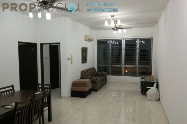 For Rent Serviced Residence at Casa Tiara, Subang Jaya Freehold Fully Furnished 3R/2B 2.23k