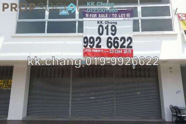 For Rent Shop at Danau Kota, Setapak Leasehold Fully Furnished 1R/0B 2.5k