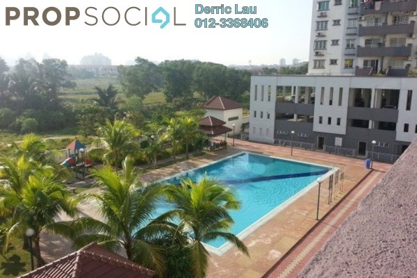 For Sale Condominium at Kinrara Mas, Bukit Jalil Freehold Fully Furnished 3R/2B 495k