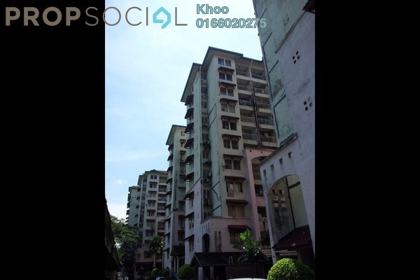For Rent Condominium at Ixora Apartment, Pudu Leasehold Fully Furnished 3R/2B 1.8k