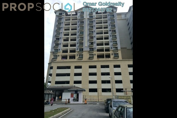For Sale Condominium at Persanda 3 Apartment, Shah Alam Leasehold Unfurnished 3R/2B 340k