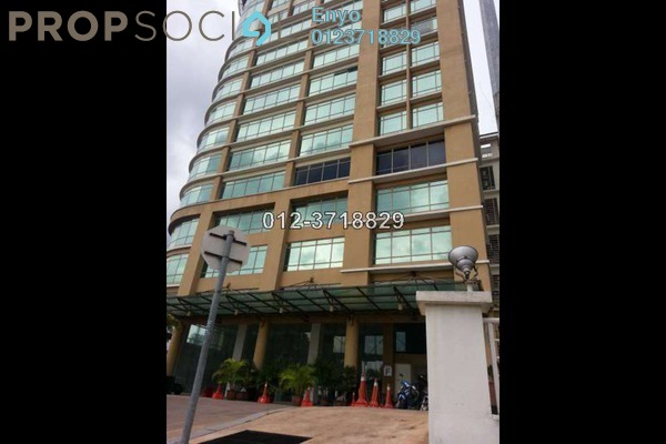 For Rent Office at Vista Tower, KLCC Freehold Fully Furnished 0R/0B 93.5k