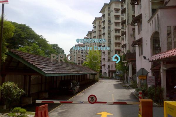 For Sale Condominium at Ixora Apartment, Pudu Leasehold Semi Furnished 3R/2B 375k