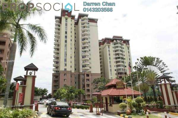 For Rent Condominium at Amadesa, Desa Petaling Leasehold Fully Furnished 3R/2B 1.5k
