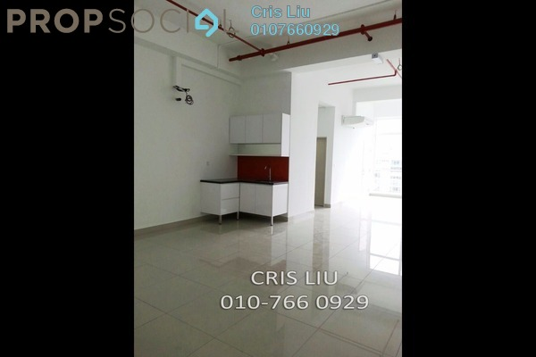 For Rent SoHo/Studio at Centum, Ara Damansara Freehold Semi Furnished 1R/1B 1.1k