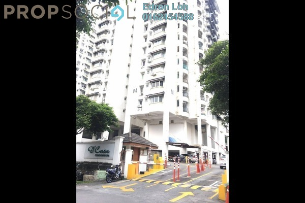 For Rent Condominium at D'casa Condominium, Ampang Leasehold Semi Furnished 3R/2B 1.2k