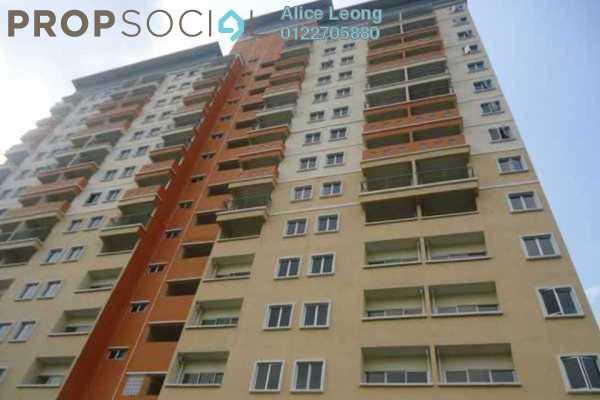 For Sale Condominium at Residensi Bistaria, Ukay Freehold Unfurnished 2R/2B 265k