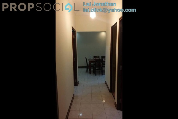 For Rent Apartment at SD Tiara Apartment, Bandar Sri Damansara Freehold Semi Furnished 3R/2B 1.3k