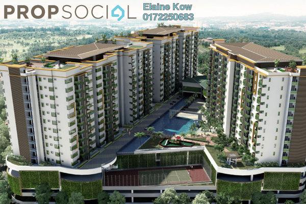 For Rent Condominium at Hijauan Saujana, Saujana Freehold Semi Furnished 3R/2B 2.1k