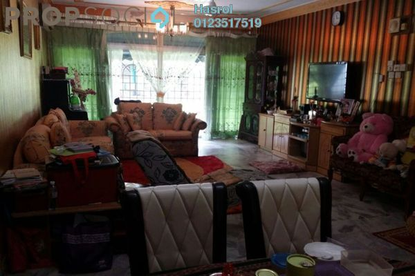 For Sale Apartment at Delima Apartment, Desa Pandan Leasehold Fully Furnished 3R/2B 420.0千