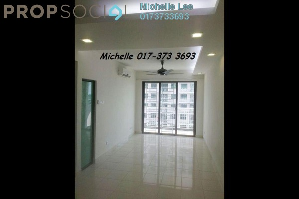 For Sale Condominium at Indah Alam, Shah Alam Freehold Semi Furnished 4R/2B 520k
