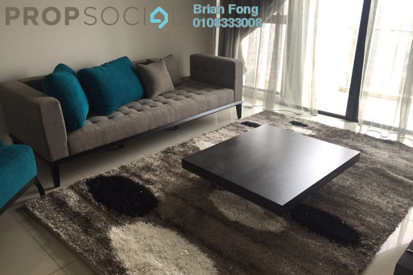 For Rent Serviced Residence at Setia Sky Residences, KLCC Freehold Fully Furnished 4R/3B 4.4k
