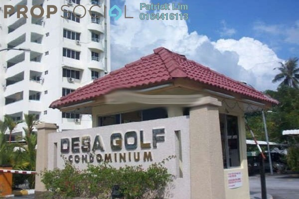 For Rent Condominium at Desa Golf, Bukit Jambul Freehold Semi Furnished 3R/2B 850translationmissing:en.pricing.unit