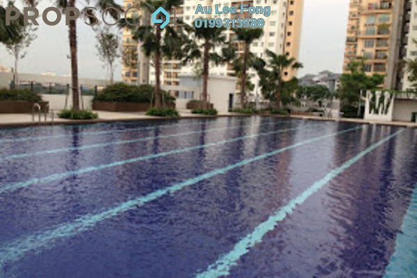 For Rent Condominium at Zenith Residences, Kelana Jaya Leasehold Fully Furnished 3R/2B 2.4k