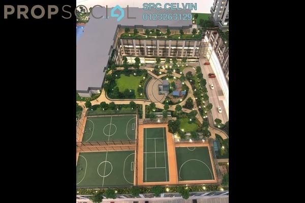 For Sale Condominium at Sentul Point, Sentul Freehold Unfurnished 3R/2B 367k