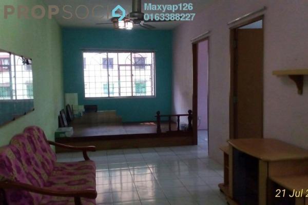 For Sale Apartment at Lestari Apartment, Damansara Damai Leasehold Semi Furnished 3R/2B 150k