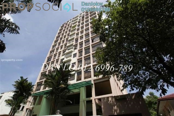 For Rent Condominium at Menara Antara, Bukit Ceylon Freehold Fully Furnished 3R/1B 4.5k